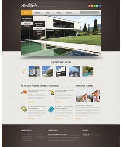 Joomla šablona na téma Architektura č. 40887