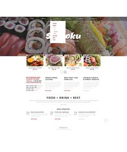 Joomla šablona na téma Café a restaurace č. 41305