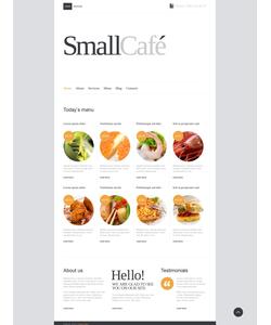 Joomla šablona na téma Café a restaurace č. 41869