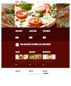 Joomla šablona na téma Café a restaurace č. 42006