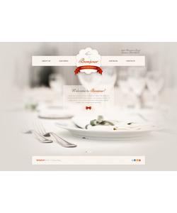 Joomla šablona na téma Café a restaurace č. 42423