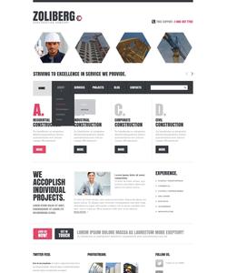 Joomla šablona na téma Architektura č. 42623