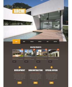 Joomla šablona na téma Architektura č. 42661