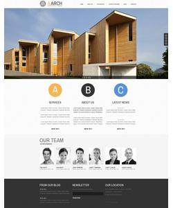 Joomla šablona na téma Architektura č. 42821