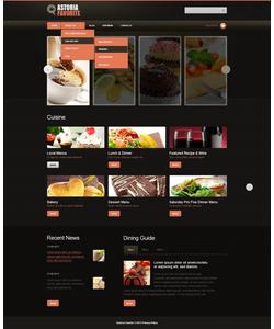 Joomla šablona na téma Café a restaurace č. 42829