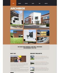 Joomla šablona na téma Architektura č. 44046