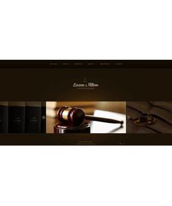 Flash CMS šablona na téma Zákon č. 45981