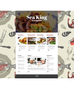 Joomla šablona na téma Café a restaurace č. 46033