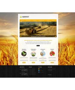Joomla šablona na téma Zemědělství č. 46099