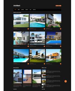 Joomla šablona na téma Architektura č. 46703
