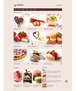 Joomla šablona na téma Café a restaurace č. 46704