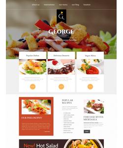 Joomla šablona na téma Café a restaurace č. 46900
