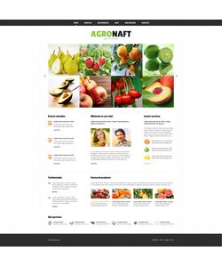Joomla šablona na téma Zemědělství č. 47160