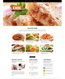 Joomla šablona na téma Café a restaurace č. 47256