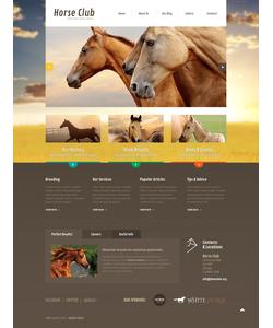 Joomla šablona na téma Zvířata č. 47490
