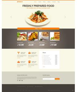 Joomla šablona na téma Café a restaurace č. 47511