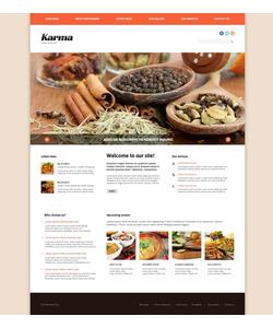 Joomla šablona na téma Café a restaurace č. 47954