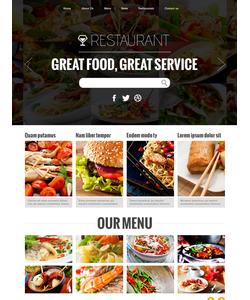 Joomla šablona na téma Café a restaurace č. 48190