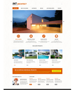 Joomla šablona na téma Architektura č. 48260