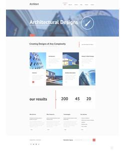 Joomla šablona na téma Architektura č. 48263