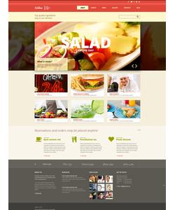 Joomla šablona na téma Café a restaurace č. 48264