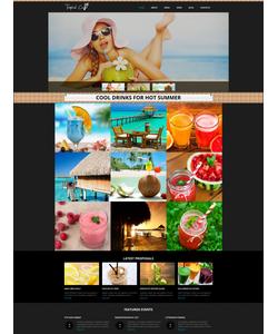 Joomla šablona na téma Café a restaurace č. 48439