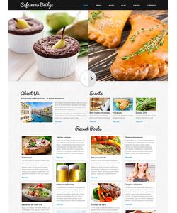 Joomla šablona na téma Café a restaurace č. 48496