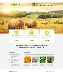 Joomla šablona na téma Zemědělství č. 48672