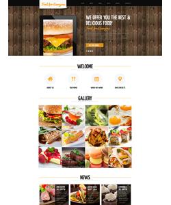 Joomla šablona na téma Café a restaurace č. 48803