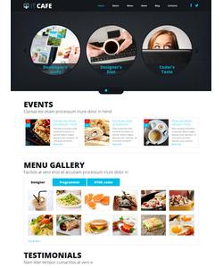 Joomla šablona na téma Café a restaurace č. 48805