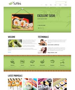 Joomla šablona na téma Café a restaurace č. 48958