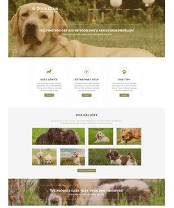 Joomla šablona na téma Zvířata č. 51221