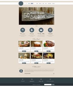 Flash CMS šablona na téma Café a restaurace č. 51262