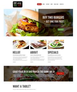 Joomla šablona na téma Café a restaurace č. 51384
