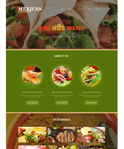 Joomla šablona na téma Café a restaurace č. 51744