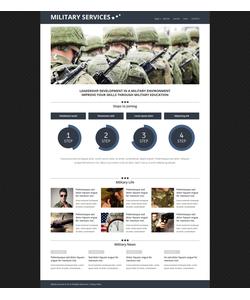 Joomla šablona na téma Vojenské č. 51803