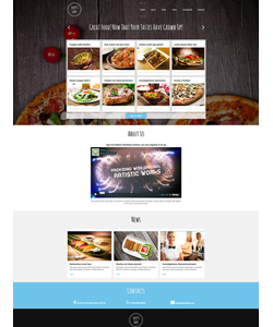 Joomla šablona na téma Café a restaurace č. 51957
