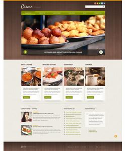 Joomla šablona na téma Café a restaurace č. 52106