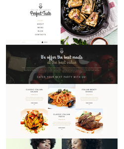Joomla šablona na téma Café a restaurace č. 53087