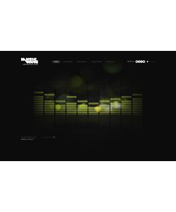 Flash CMS šablona na téma Hudba č. 27700