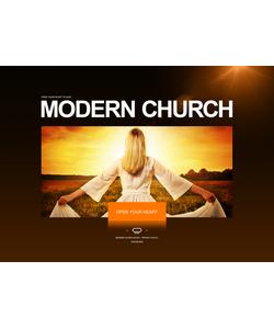 Flash CMS šablona na téma Náboženství č. 33956