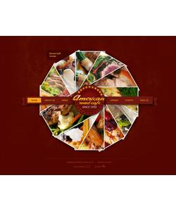 Flash CMS šablona na téma Café a restaurace č. 35781