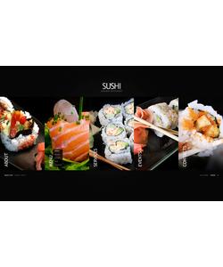 Flash CMS šablona na téma Café a restaurace č. 38053