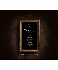 Flash CMS šablona na téma Café a restaurace č. 38705