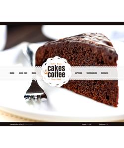 Flash CMS šablona na téma Café a restaurace č. 41377
