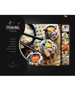 Flash CMS šablona na téma Café a restaurace č. 42786