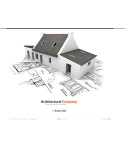 Flash CMS šablona na téma Architektura č. 44112