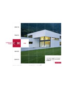 Flash CMS šablona na téma Architektura č. 44120
