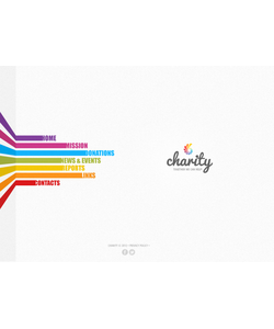 Flash CMS šablona na téma Charita č. 44122