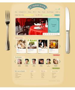 Flash CMS šablona na téma Café a restaurace č. 44432